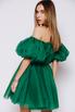 Зеленое платье мини из фатина в прокат и аренду в Киеве, Одессе, Харькове. Фото 5