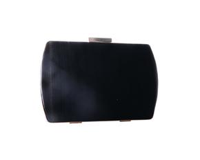Сатиновий чорний клатч прямокутної форми в прокат и oренду в Киiвi. Фото 1