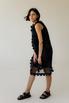 Двухслойное полупрозрачное платье с цветочными аппликациями в прокат и аренду в Киеве. Фото 2