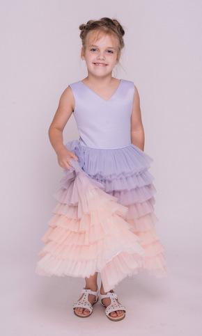 Дитяче плаття з лавандовим градієнтом в прокат и oренду в Киiвi. Фото 2