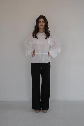 Біла шовкова блузка в прокат и oренду в Киiвi. Фото 2