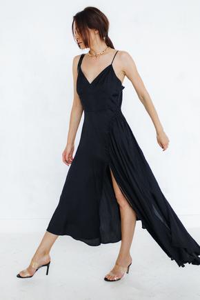 Шовкова сукня комбінація з асиметричним низом та драпіруванням в прокат и oренду в Киiвi. Фото 2