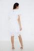 Белое платье мини из лепестков в прокат и аренду в Киеве. Фото 3