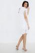 Белое платье мини из лепестков в прокат и аренду в Киеве. Фото 4