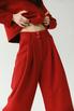 Костюм свитшот и широкие брюки темно-красного цвета в прокат и аренду в Киеве, Одессе, Харькове. Фото 1