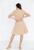 Платье-рубашка длины миди песочного цвета в прокат и аренду в Киеве. Фото 5