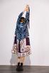 Платье-рубашка свободного кроя с разноцветным принтом в прокат и аренду в Киеве. Фото 4