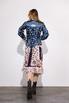 Платье-рубашка свободного кроя с разноцветным принтом в прокат и аренду в Киеве. Фото 5