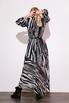 Шифоновое платье миди с принтом зебра в прокат и аренду в Киеве. Фото 4