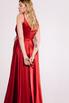 Шелковое платье длины макси бордового цвета в прокат и аренду в Киеве. Фото 7