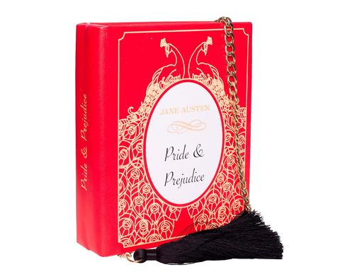 Клатч-книга Pride&Prejudice красный